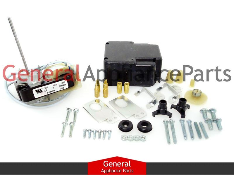 Refrigerator Evaporator Motor Fitskenmore Admiral 548697