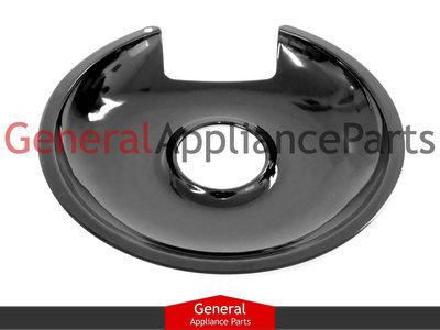 """Drip Pan Bowls 2pcs WB31M20 6/""""and 2pcs WB31M19 8/"""" Porcelain Drip Pans Replacement for GE Range Cooktop by AMI PARTS 4 Piece Set"""